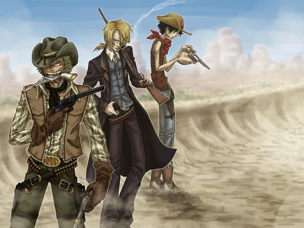 Cowboy Trio by SybLaTortue