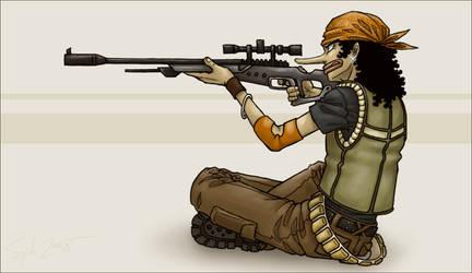 Sniper by SybLaTortue