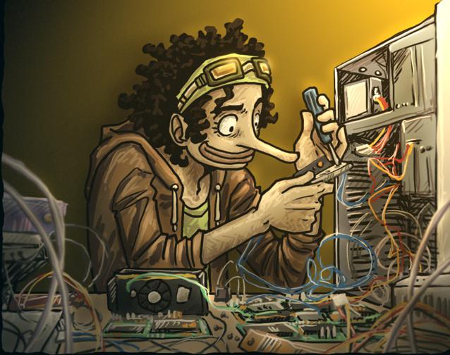 Geek Usopp by SybLaTortue