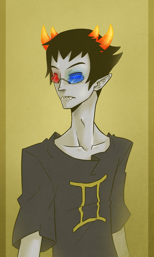 Sollux Captor  Homestuck  Let me tell you about