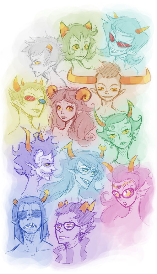 12Trolls by SybLaTortue