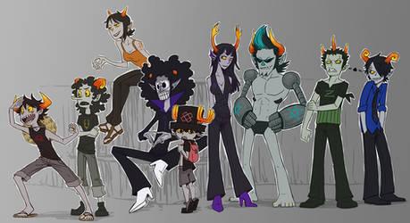 Troll Crew by SybLaTortue