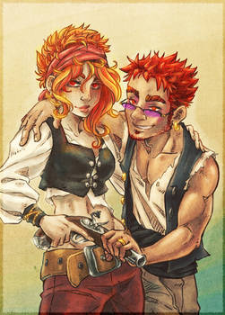 Don't mess with the red heads