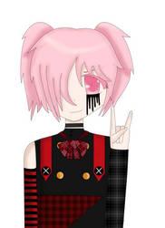 Madoka Kaname punk visual kei version~ by 4ro-chan