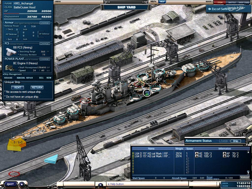 Desktop Screenshot: NavyField by Abrgomez