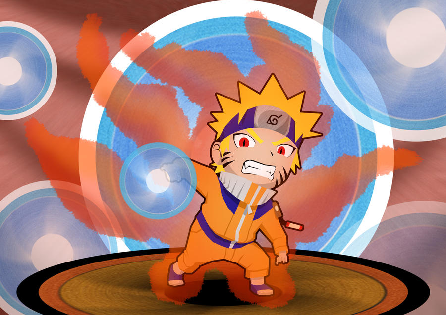 Chibi Naruto- Kyubi Possesion by ProfessorZolo on DeviantArt
