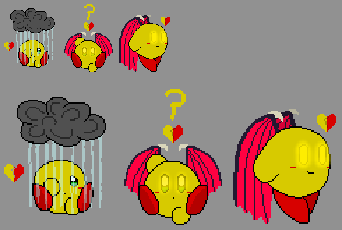 Some Autumn Sprites (Or Pixels, whatever) by AutumnLeafdust