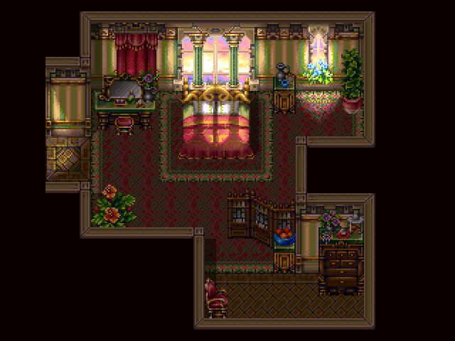 Royal Bedroom by Caladium
