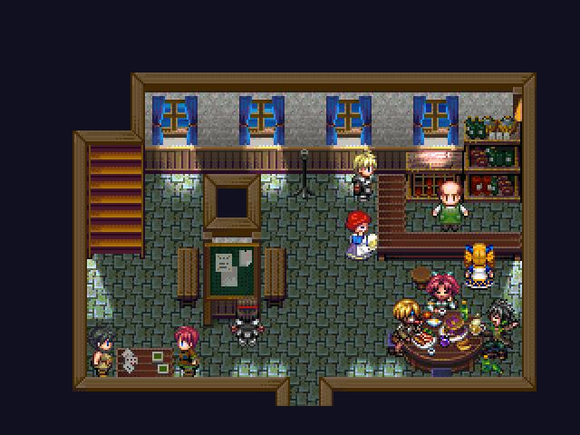 Tavern Breakfast by Caladium