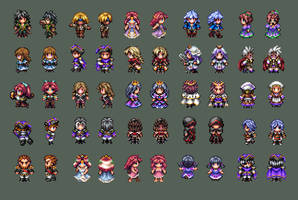 R3P Character Sprites