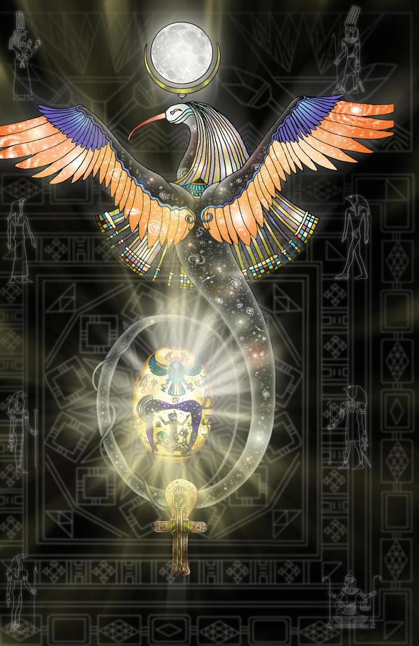 Egyptian Creation Myth No.1 Picture, Egyptian Creation Myth No.1 Image