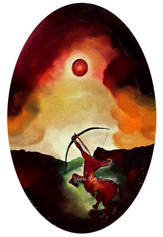 Sagittarius by Kematian