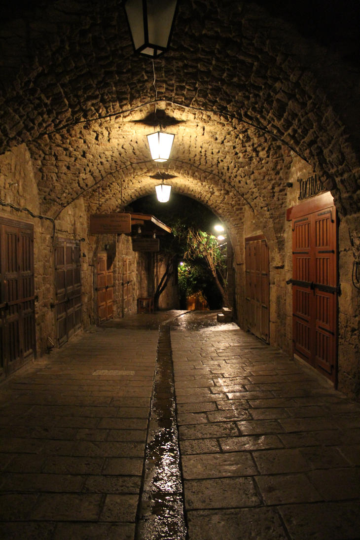 Byblos Lebanon Middle East by Kematian