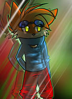 Blinx by Armadillo-Crayons