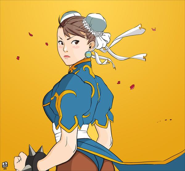 Chun-Li Coloring by deathraven479