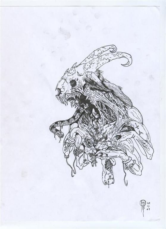 Inhuman Desolator WIP by YannTheMad