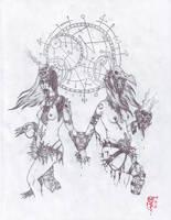 Zodiac : Gemini by YannTheMad