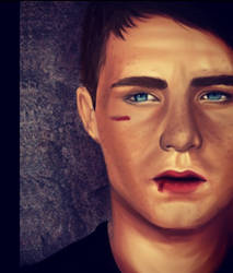 Finished Colton Haynes by Luisaj