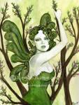 Green Leaf Faerie