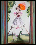 Lady On Tightrope