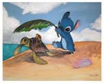 Stitch and Turtle