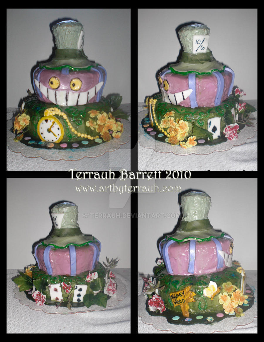 Wonderland Cake by Terrauh