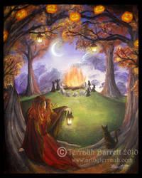 Samhain Night by Terrauh
