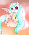 Magical sun butt horse