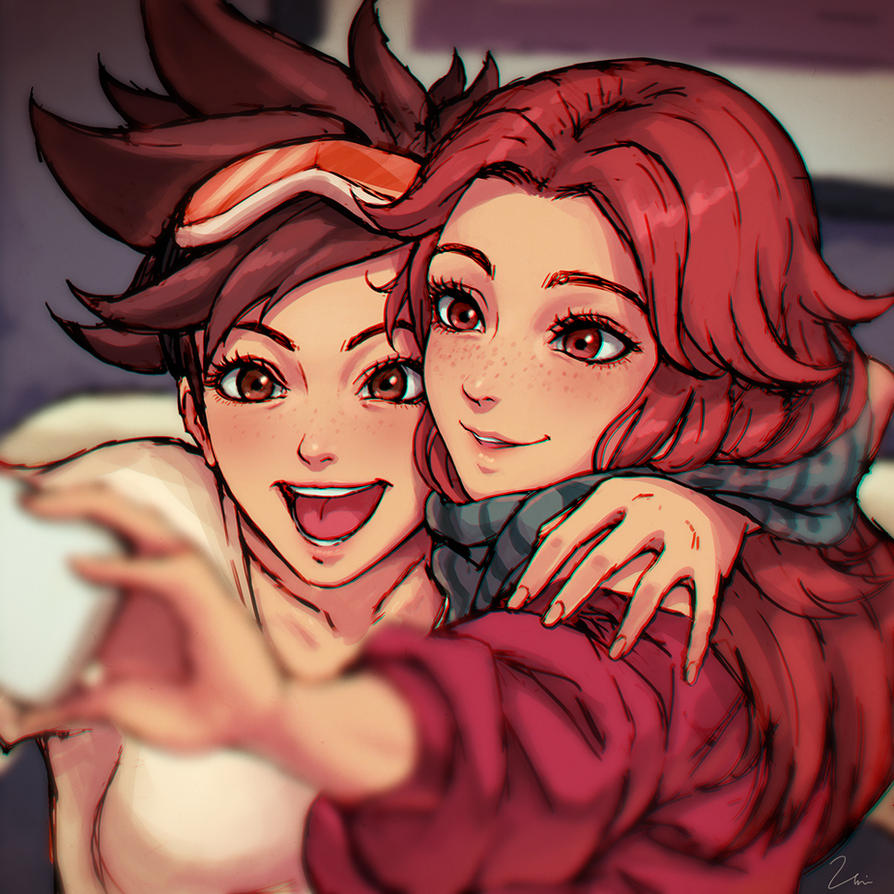 Tracer's Christmas by umigraphics on DeviantArt