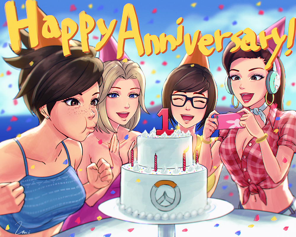 Happy Overwatch Anniversary