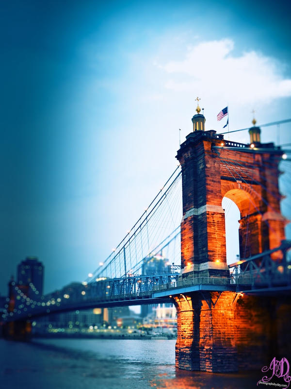 The Singing Bridge of Cincinnati by photographs-by-day