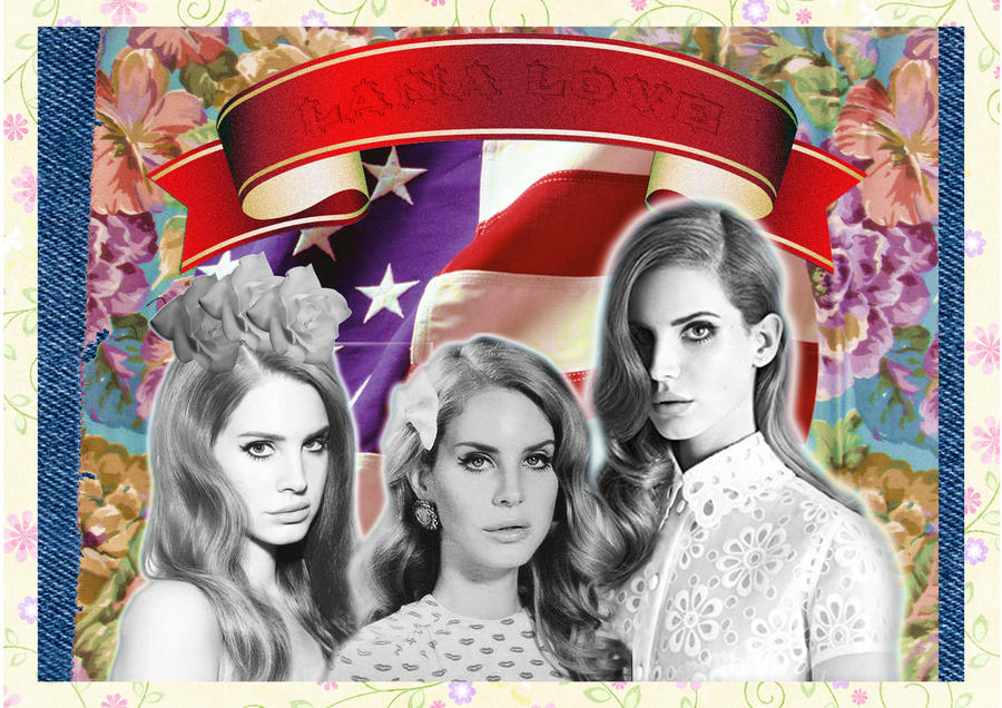 Lana Del Rey Love by Laazar
