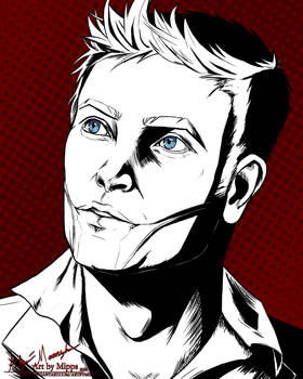 Wolfgang Kruger Comic style