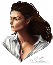 Experimental Portrait - Melina