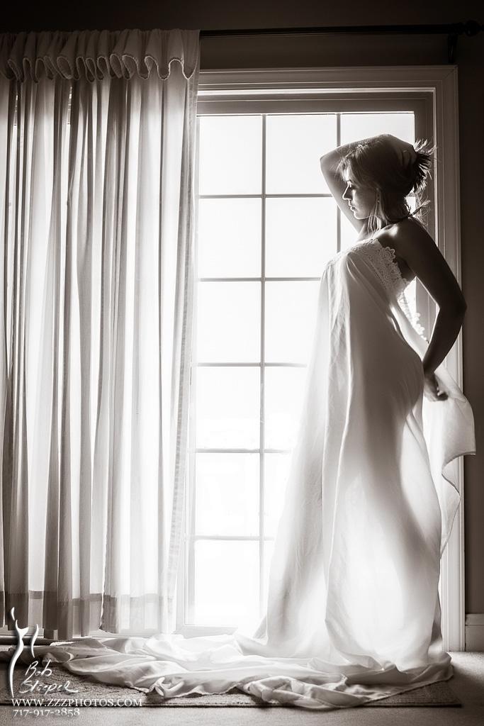 Olga in the window... by RobertSleeper