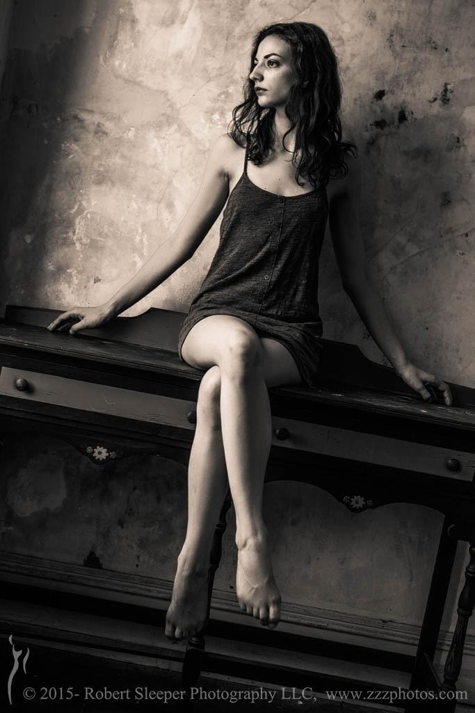 Beth sits... by RobertSleeper