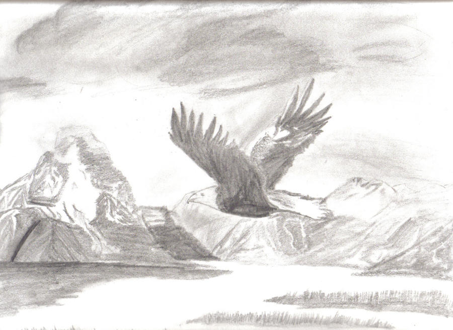 Pencil landscapes by rainydays1 on deviantart for What is landscape drawing