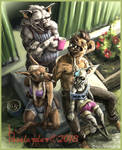Hyena Squad loitering in the morning