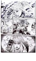 Metroid: Single Comic Page by SoraKokiri