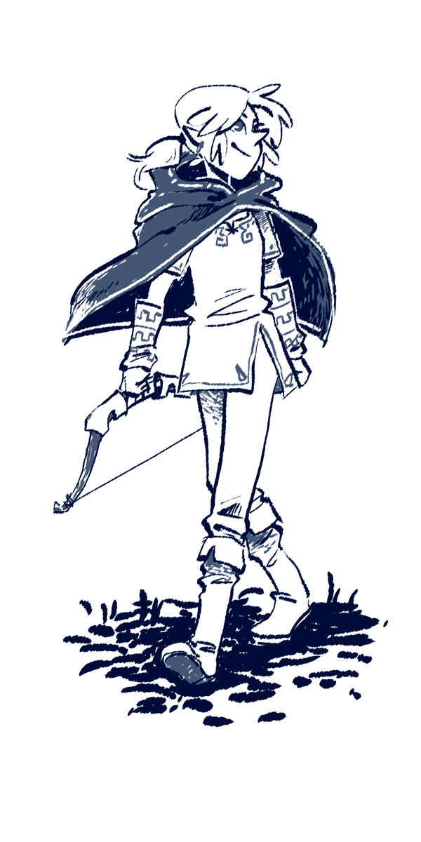 Link by SoraKokiri