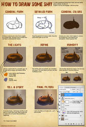 How to draw some shit by Balsamique