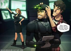 Splinter Cell : New goggles