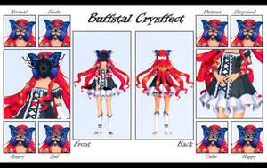 [MMD-OC] Buffstal Crysffect ~ by o-DSV-o