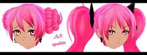 [MMD-W.I.P.] OC Update: JiJi ~