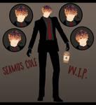 [MMD-W.I.P.] New OC: Seamus Cole ~