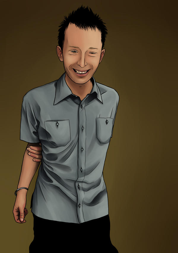 Thom Yorke by gotafever