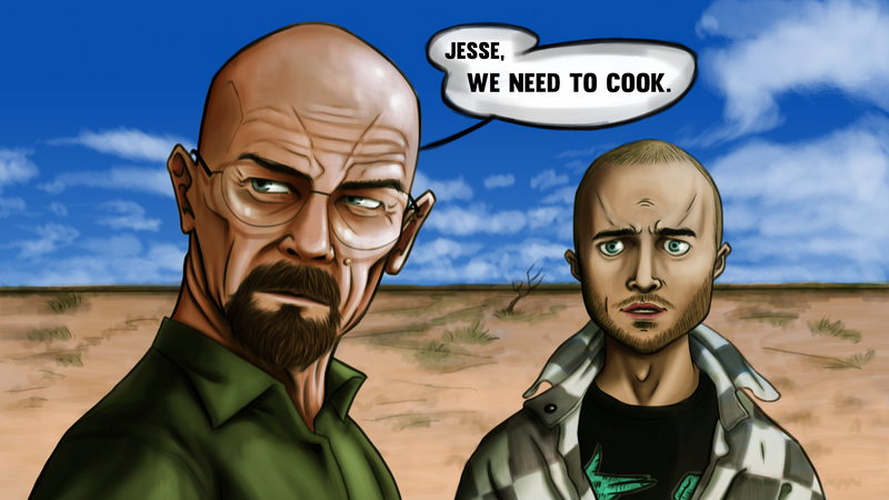 Breaking Bad by gotafever