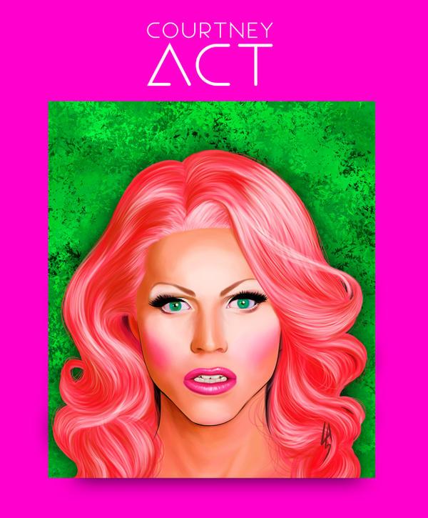 Courtney Act by gotafever