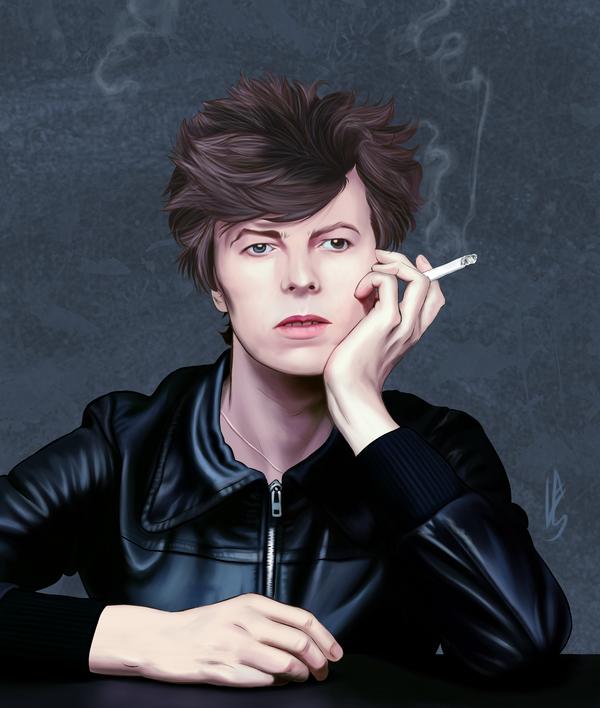 David Bowie by gotafever
