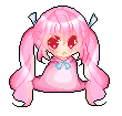 Pink pixel by bunnylover11